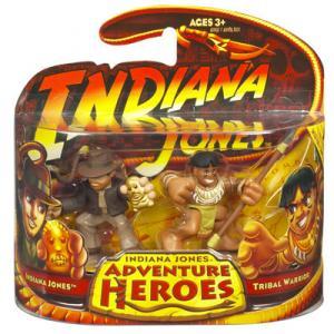 Indiana Jones vs Tribal Warrior Adventure Heroes