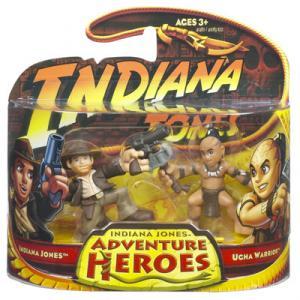 Indiana Jones vs Ugha Warrior Adventure Heroes