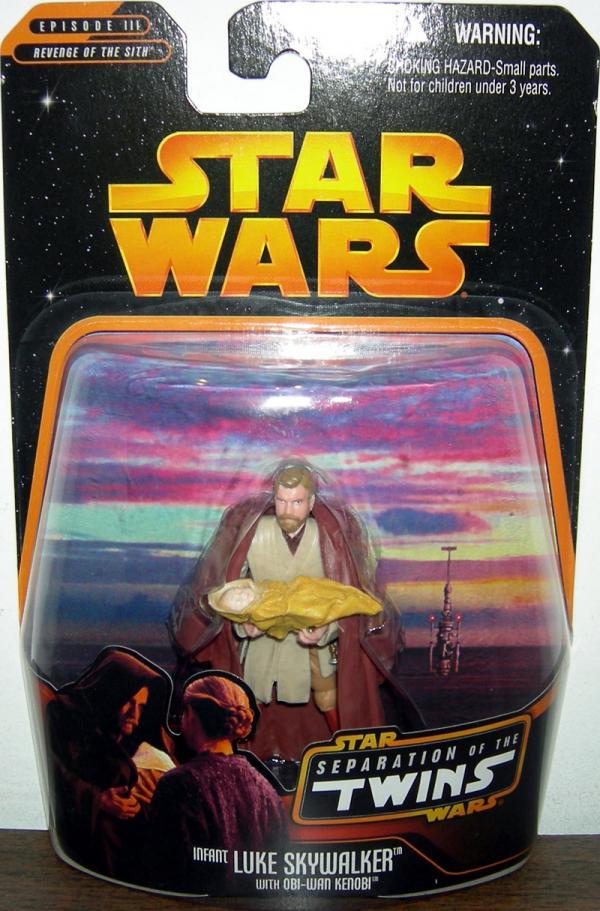 Infant Luke Skywalker Obi-Wan Kenobi