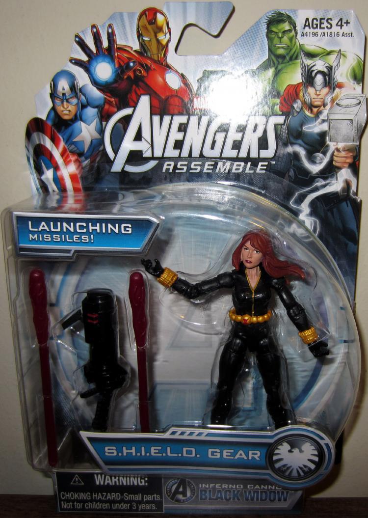 Inferno Cannon Black Widow Avengers Assemble action figure