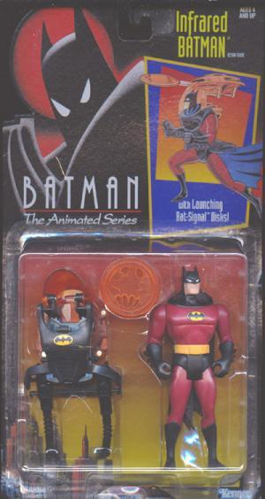 Infrared Batman Batman Animated Series