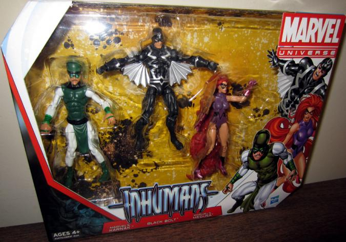 Inhumans Marvel Universe action figures