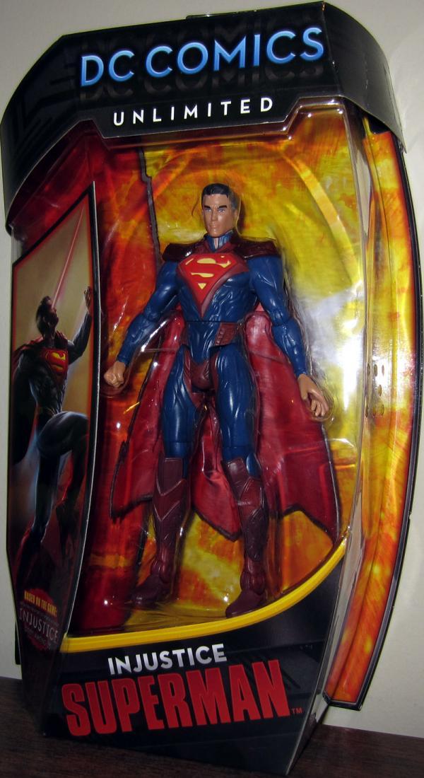 Injustice Superman DC Comics Unlimited action figure