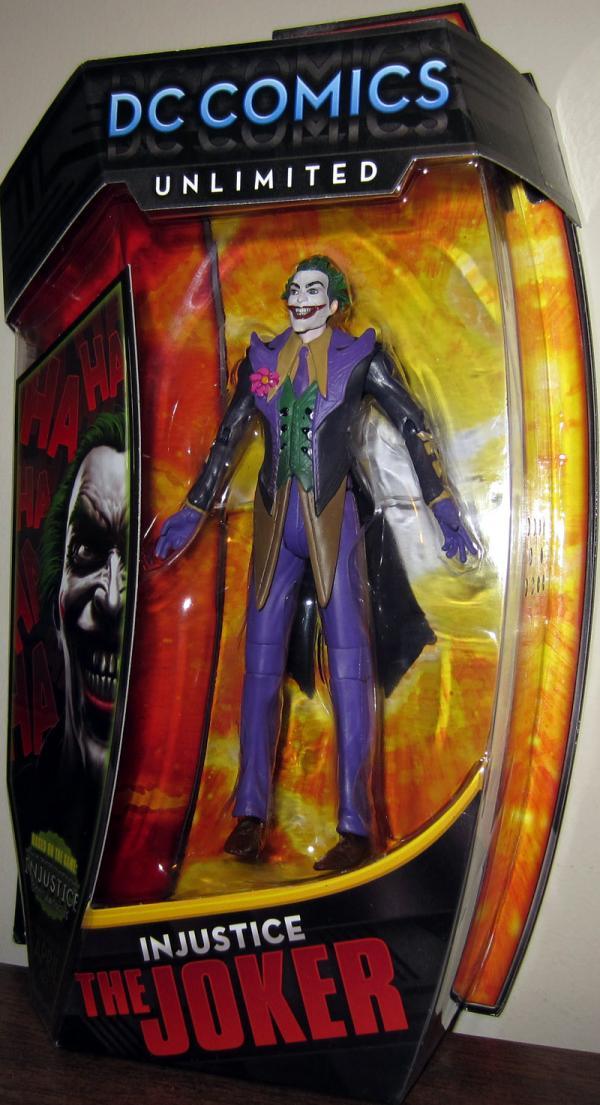 Injustice Joker DC Comics Unlimited action figure