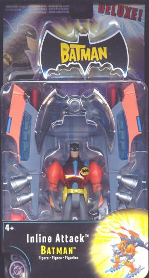 Inline Attack Batman Deluxe Action Figure Mattel