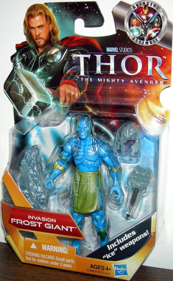 Invasion Frost Giant Thor Movie action figure