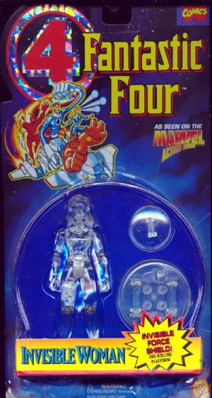 Invisible Woman Action Figure Clear Fantastic Four 4 Animated