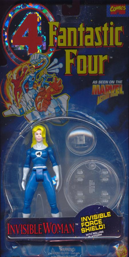 Invisible Woman painted