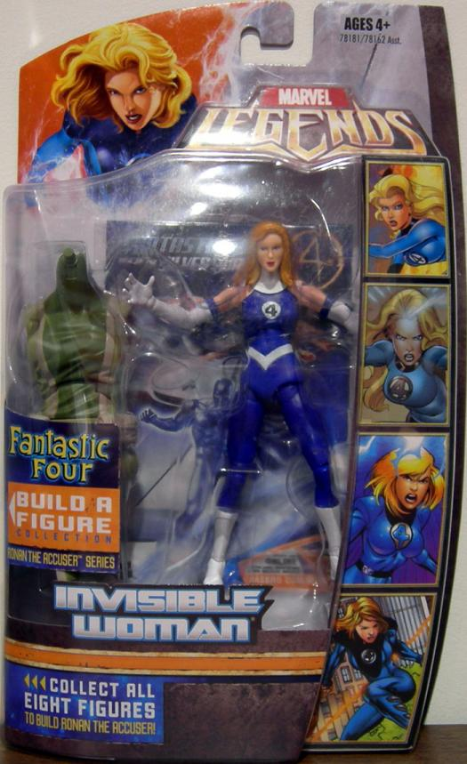 Invisible Woman Ronan Accuser Series Marvel Legends action figure