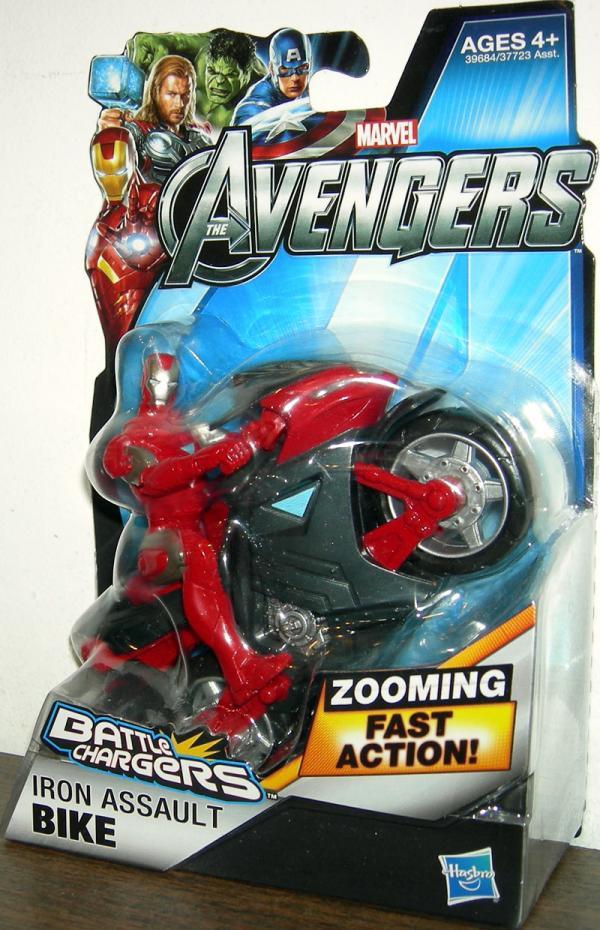 Iron Assault Bike Avengers, Battle Chargers