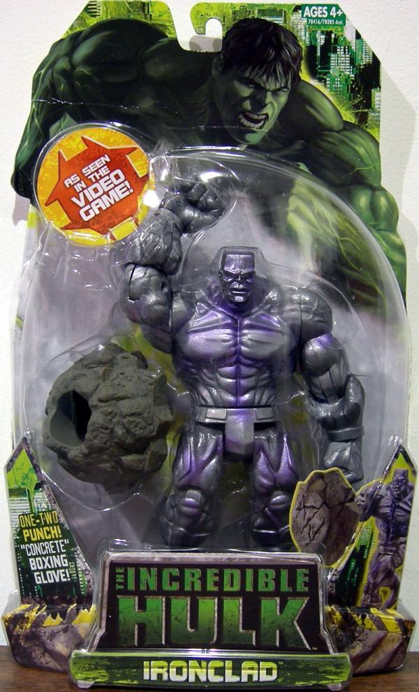 Ironclad Action Figure The Incredible Hulk Hasbro