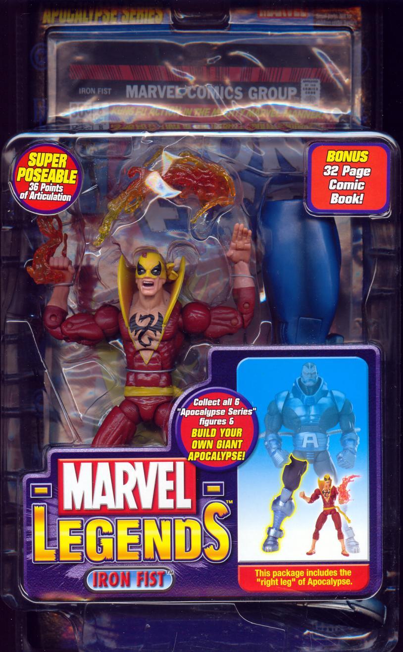 Iron Fist Marvel Legends, variant