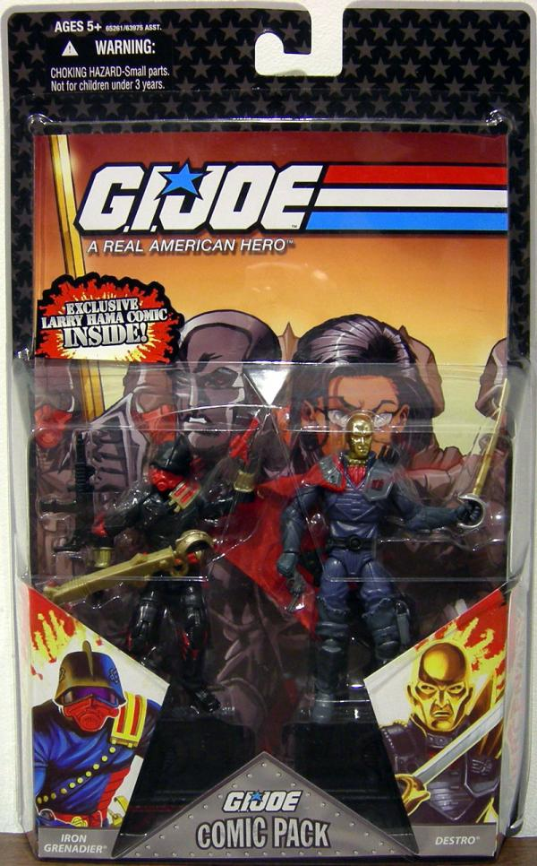 Iron Grenadier Destro Comic Pack