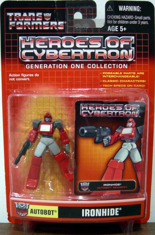 Ironhide Heroes Cybertron