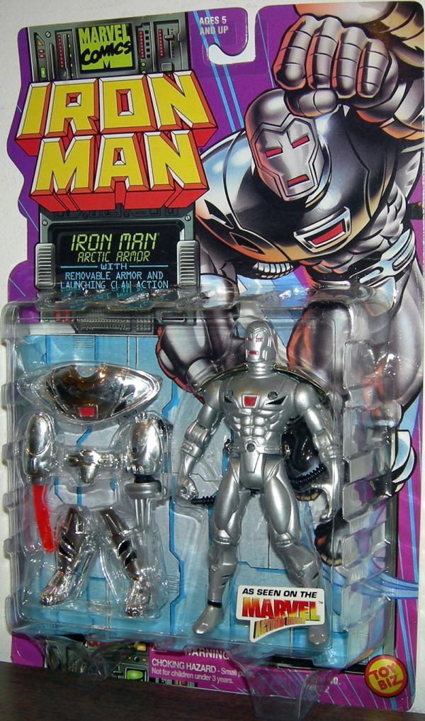 Iron Man Arctic Armor
