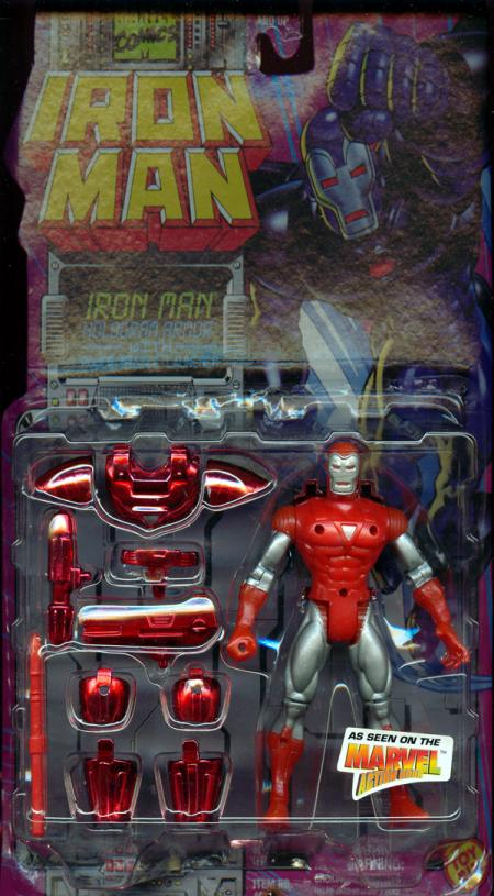 Iron Man Hologram Armor