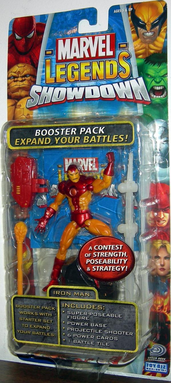 Iron Man Action Figure Marvel Legends Showdown Toy Biz