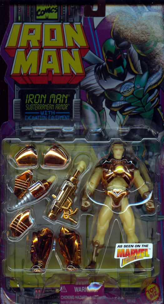 Iron Man Subterranean Armor Movie action figure