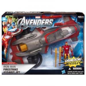 Iron Man Firestrike Assault Jet Avengers