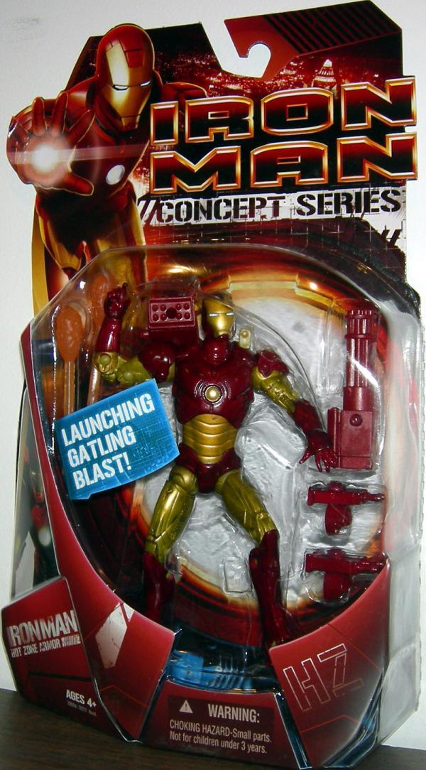 Iron Man Hot Zone Armor