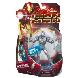 Iron Man Mark 02 Figure II Movie Firing Missile