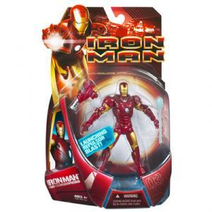 Iron Man Figure Mark 03 III Movie Launching Repulsor Blast