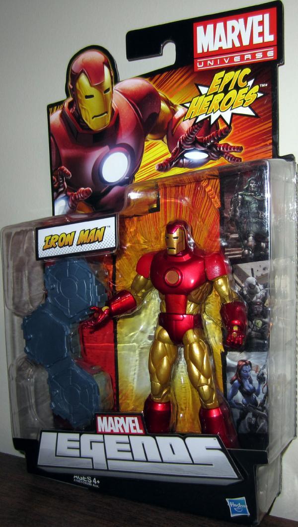 Iron Man Marvel Legends, Epic Heroes