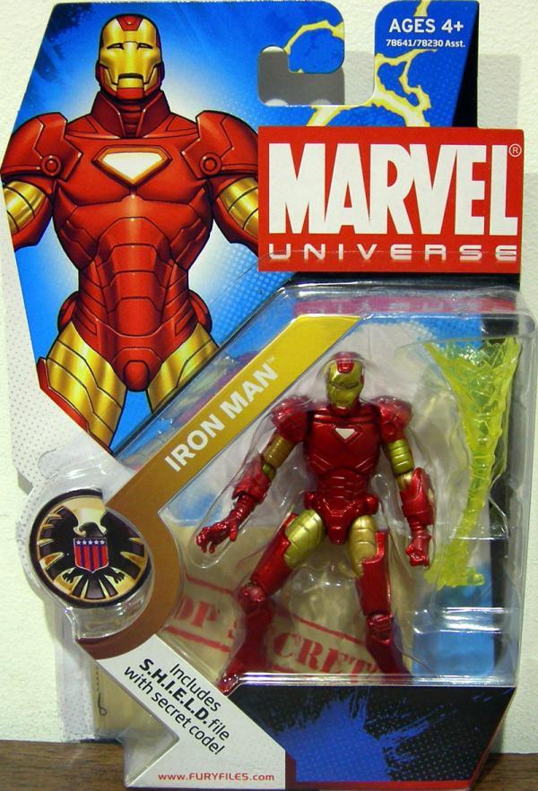 Iron Man Marvel Universe, 001