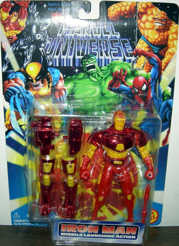 Iron Man missile-launching action Marvel Universe