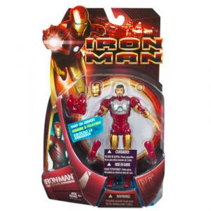Iron Man Prototype Figure Snap-On Armor Movie Hasbro