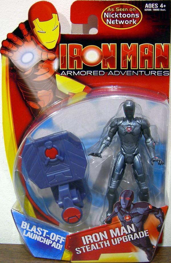 Iron Man - Stealth Upgrade Armored Adventures
