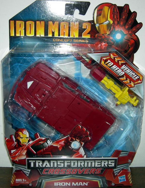 Armored 4x4 Iron Man, Transformers Crossovers, Iron Man 2