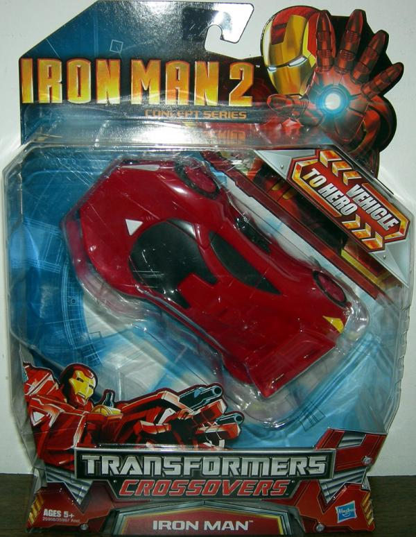 Race Car Iron Man 2 Action Figure Transformers Crossovers