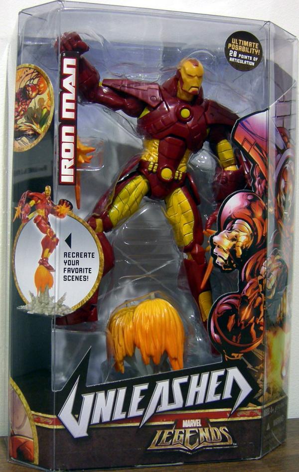 8 inch Iron Man, Unleashed