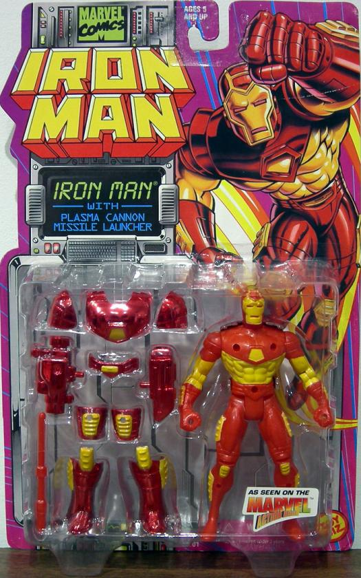 Iron Man Action Figure Plasma Cannon Animated Series