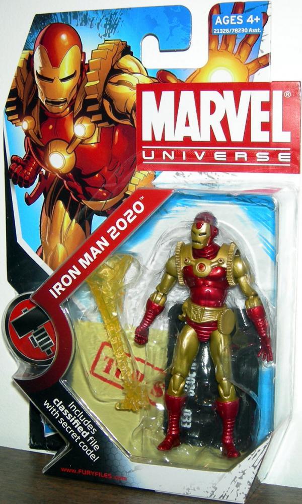 Iron Man 2020 Marvel Universe, series 2, 033