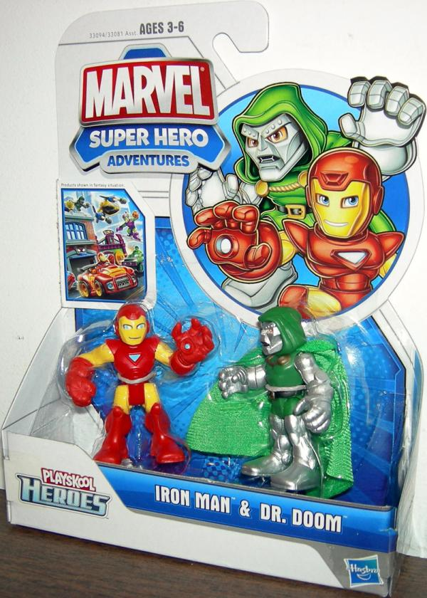 Iron Man Dr Doom Playskool Heroes