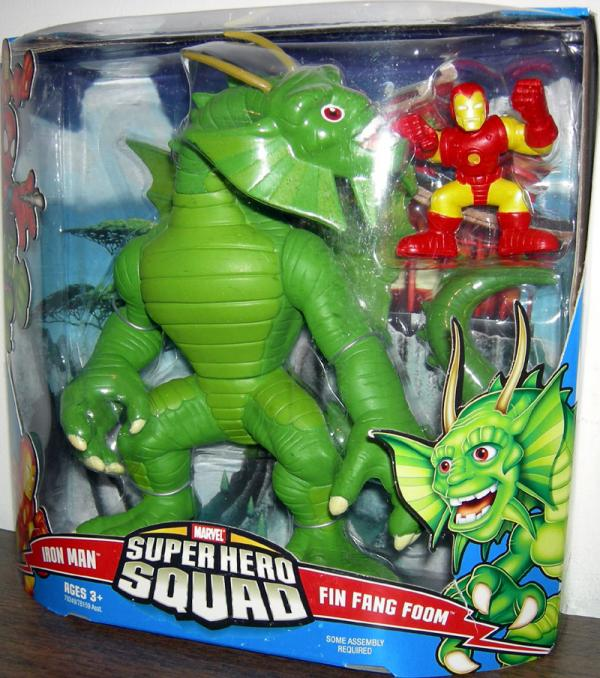 Iron Man Fin Fang Foom Super Hero Squad