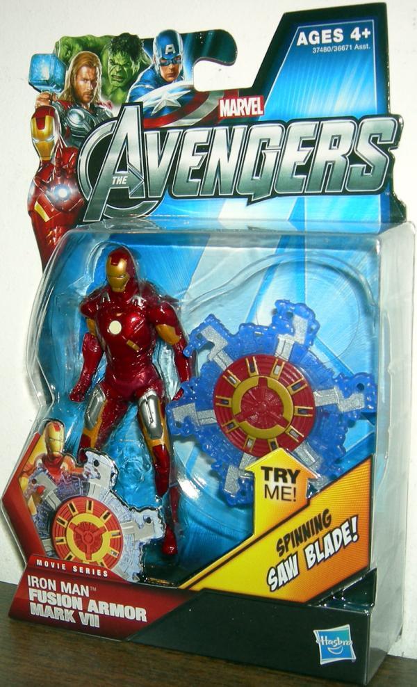 Iron Man Fusion Armor Mark VII 11 Avengers