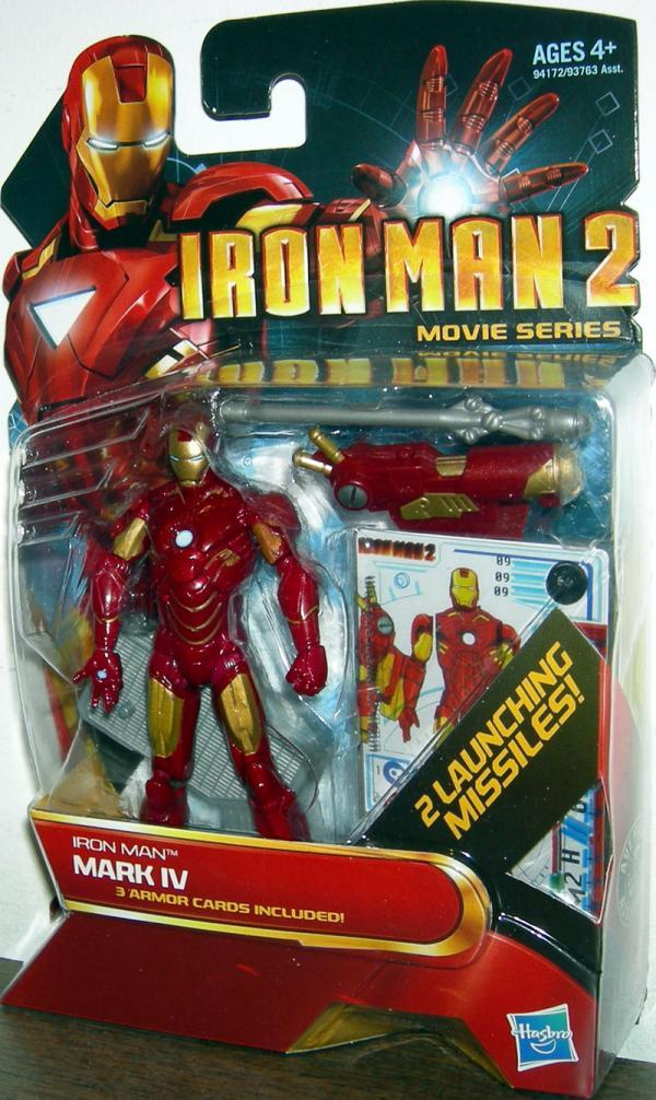 Iron Man 2 Mark IV 09 Movie Series action figure