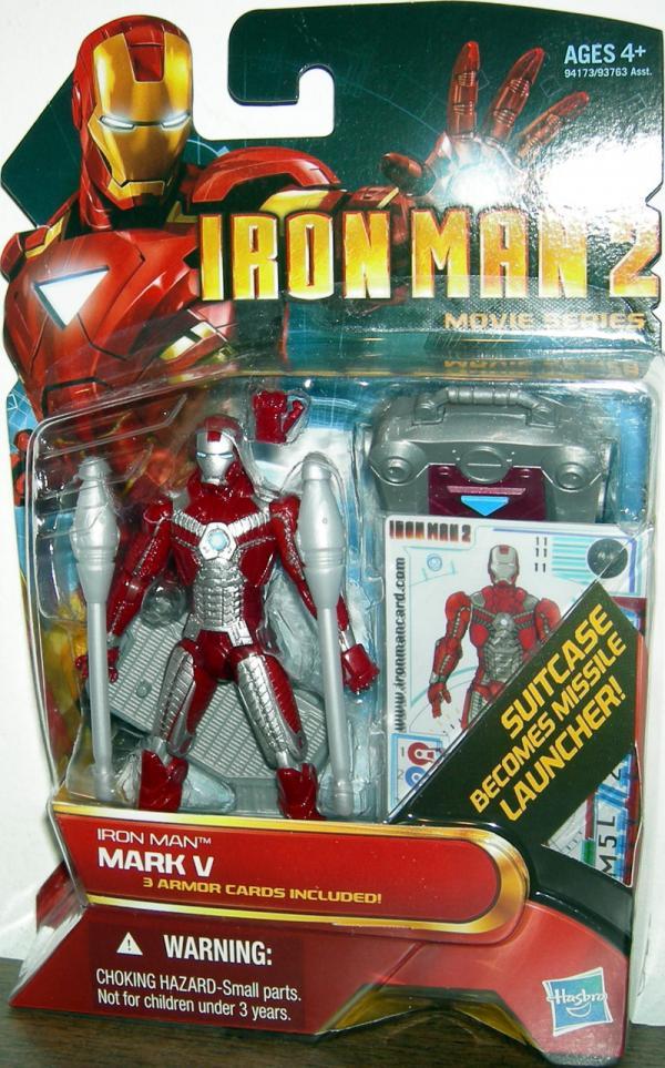 Iron Man 2 Mark V Action Figure 11 Hasbro