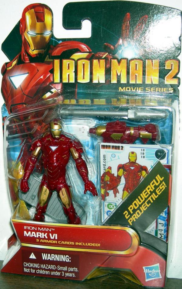 Iron Man Mark VI 10 Figure 2 Movie Series Hasbro