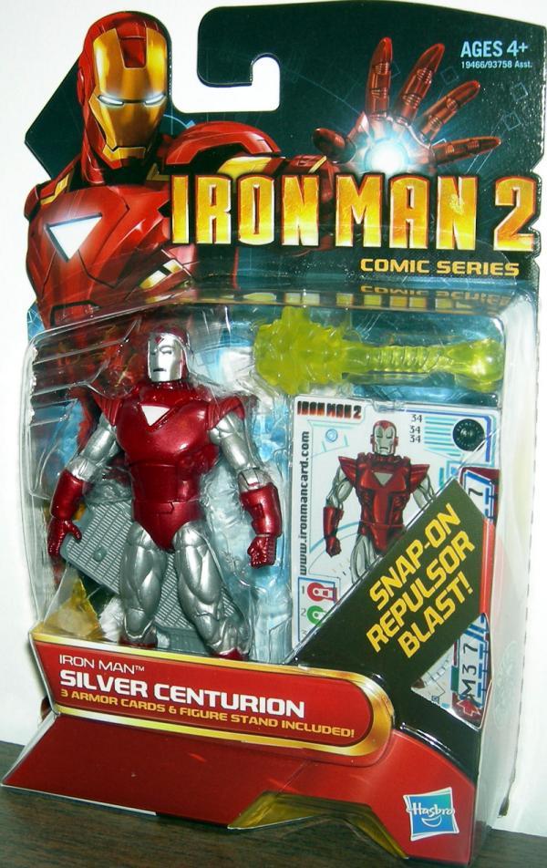 Iron Man Silver Centurion 34