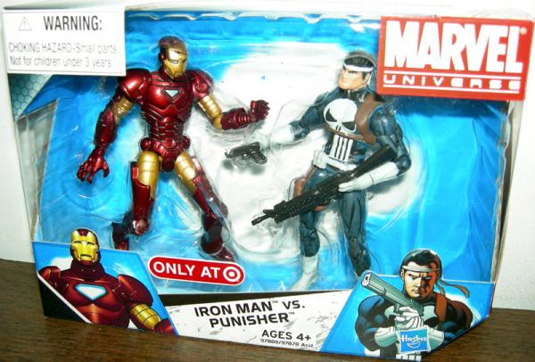 Iron Man vs Punisher Marvel Universe, 002