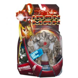 Iron Monger super fist smash Iron Man movie red version action figure