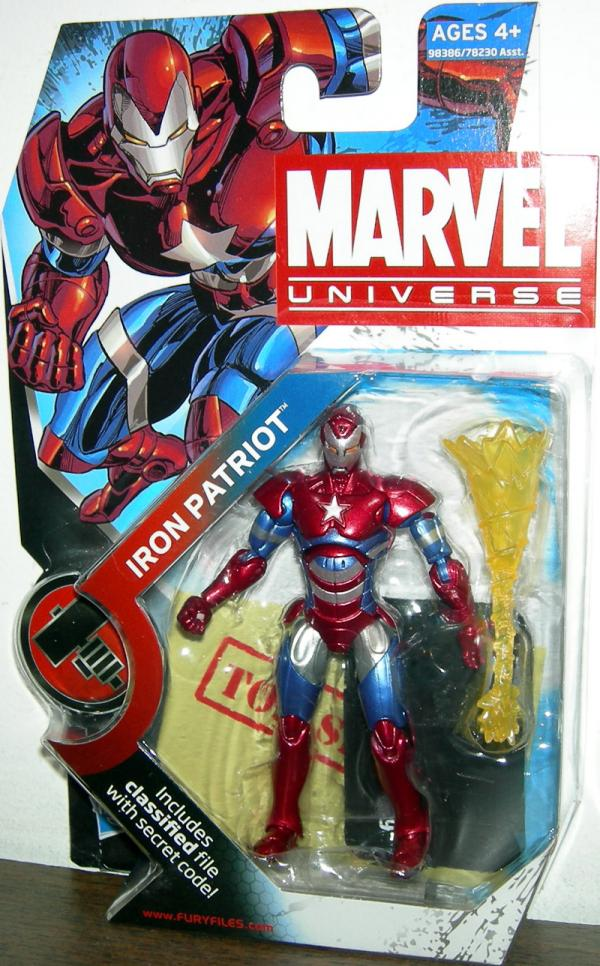 Iron Patriot Marvel Universe, series 2, 019