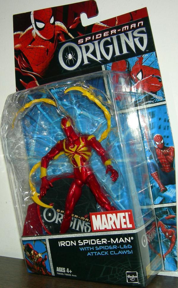 Iron Spider-Man Spider-Man Origins