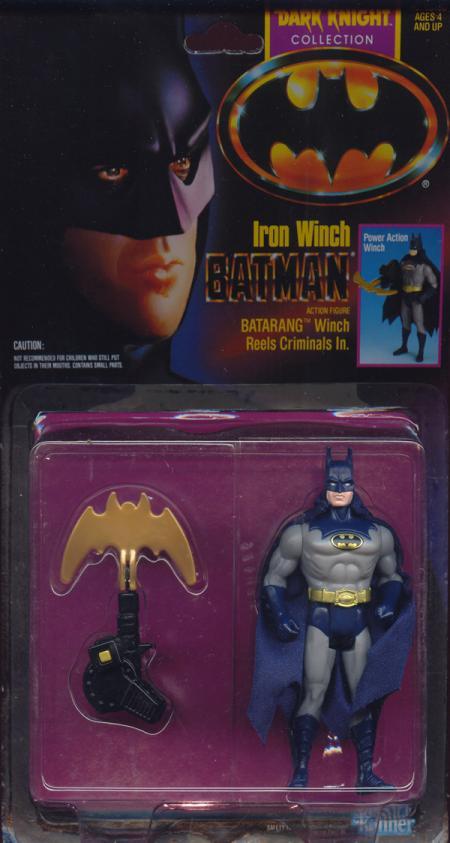 Iron Winch Batman Figure Dark Knight Collection Movie