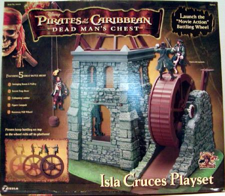Isla Cruces Playset Pirates Caribbean Dead Mans Chest