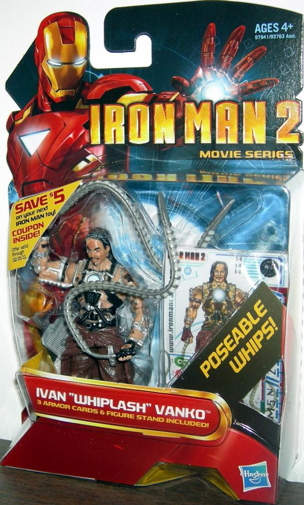 Ivan Whiplash Vanko 14 Iron Man 2 Movie Series action figure